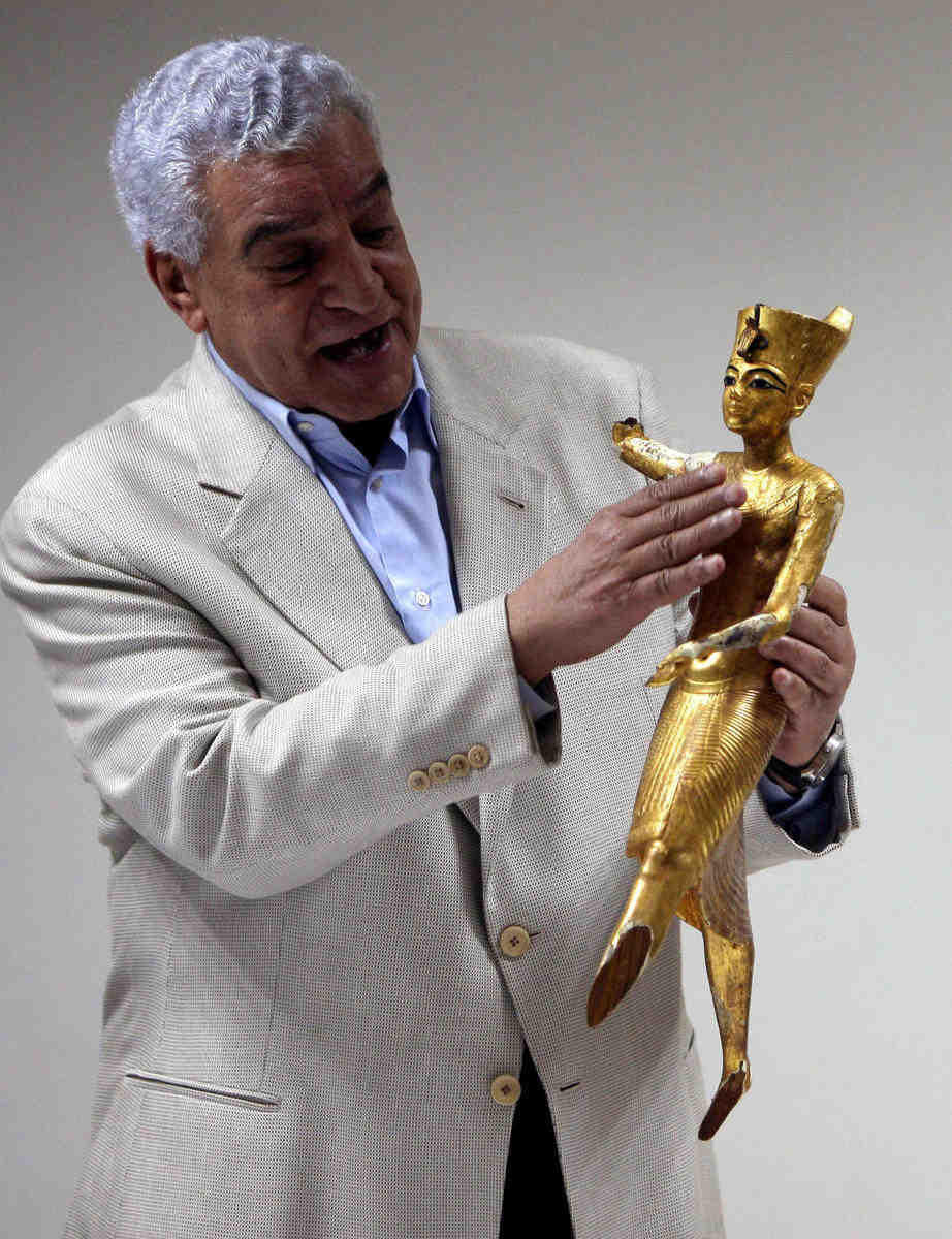 Crap, Sienna zahi hawass arrogant asshole this